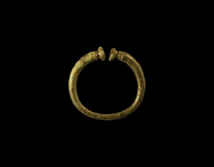 Iron Age British Celtic Miniature Votive Torc