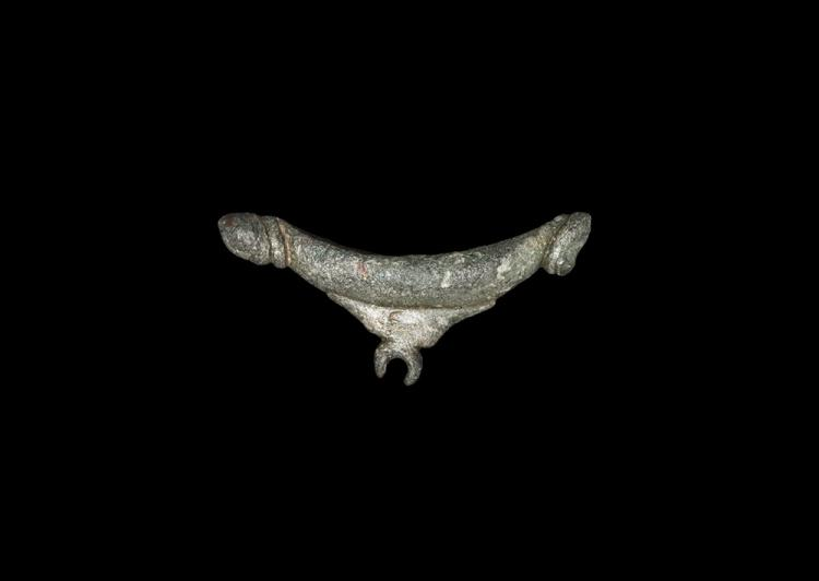 Iron Age British Celtic Human- and Bull-Headed Cosmetic Grinder