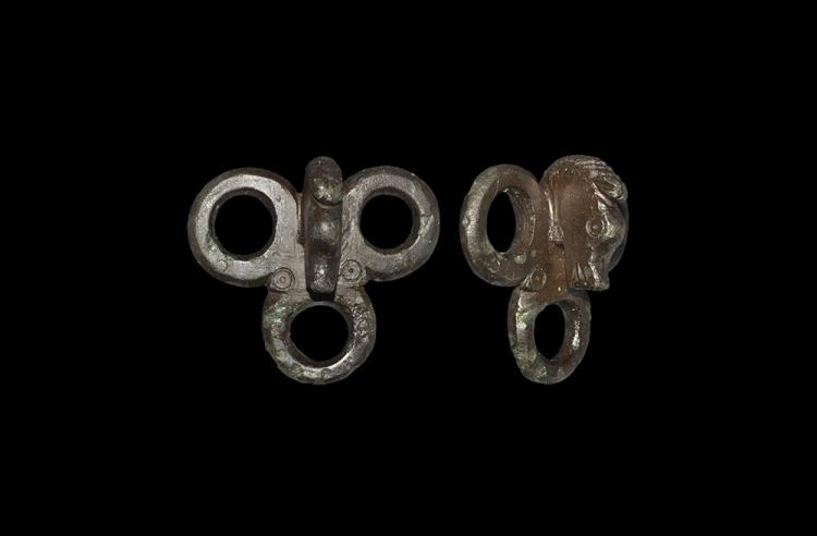 Romano-British Strap Junction with Horse Head