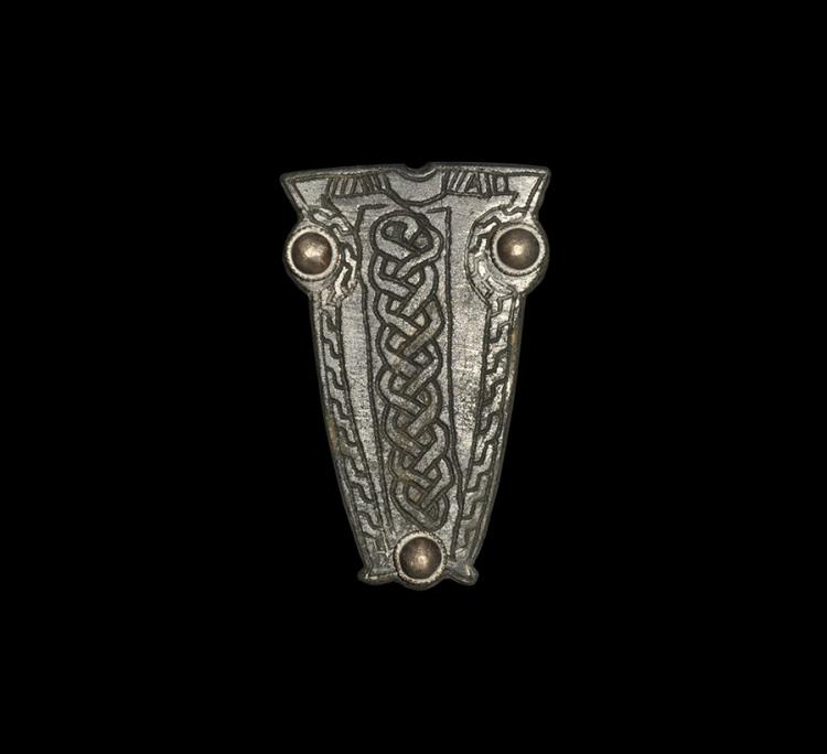 Merovingian Belt Counterplate with Interlace
