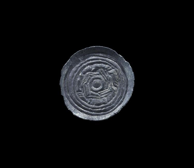 Anglo-Saxon Gilt Style I Saucer Brooch