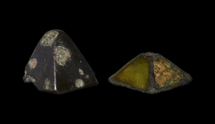 Anglo-Saxon Sword Pyramid Mount Group