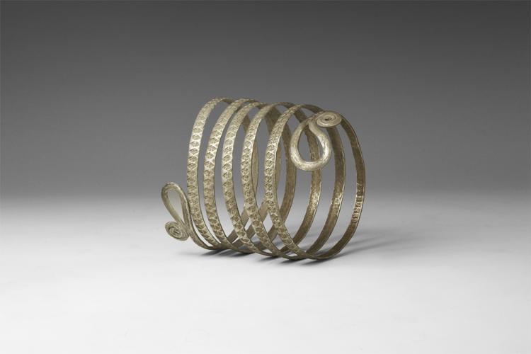 Viking Double-Tailed Serpent Bracelet