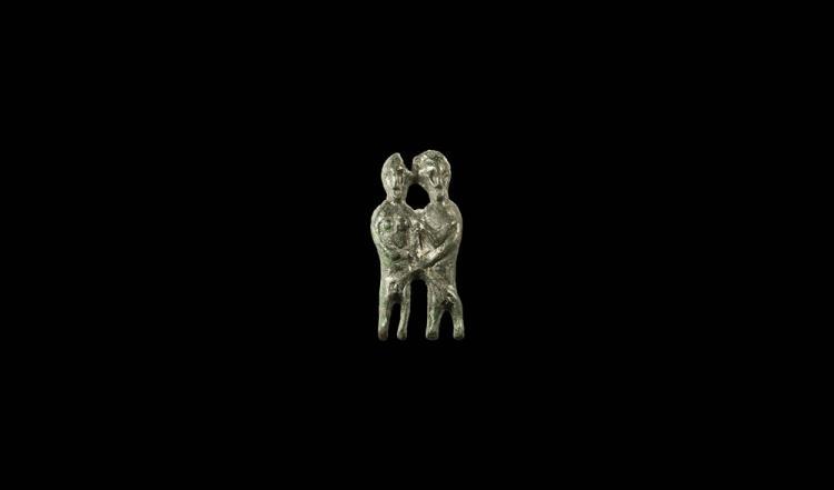 Pre-Viking 'Freyr and Freyja' Erotic Mount