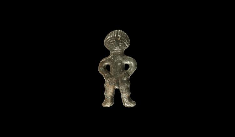 Viking Age Figural Plaque