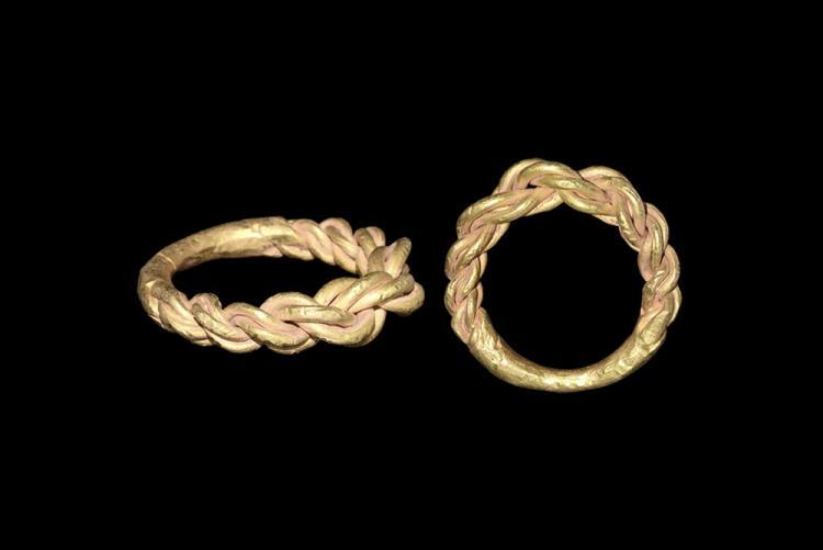 Viking Large Plaited Ring