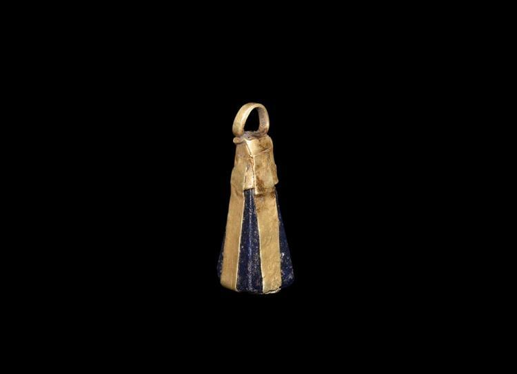 Viking Gold Pyramidal Pendant