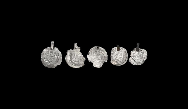 Viking Pseudo-Coin Pendant Group