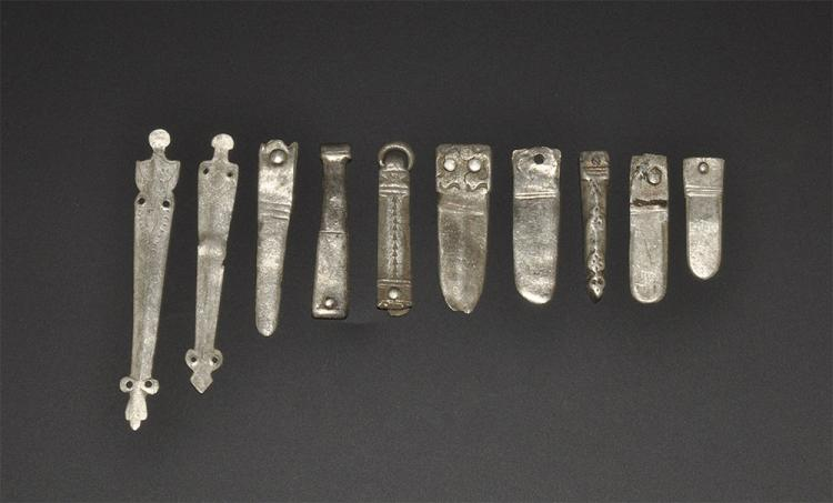 Viking to Medieval Strap End Group