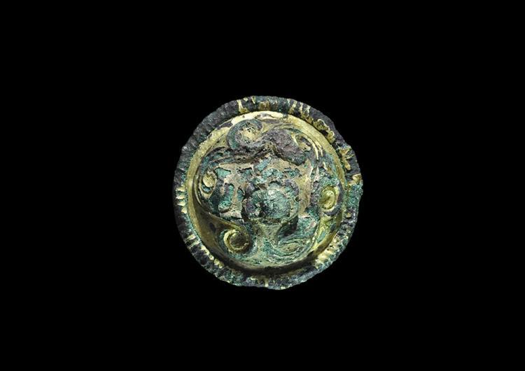 Viking Hiberno-Norse Gilt Brooch