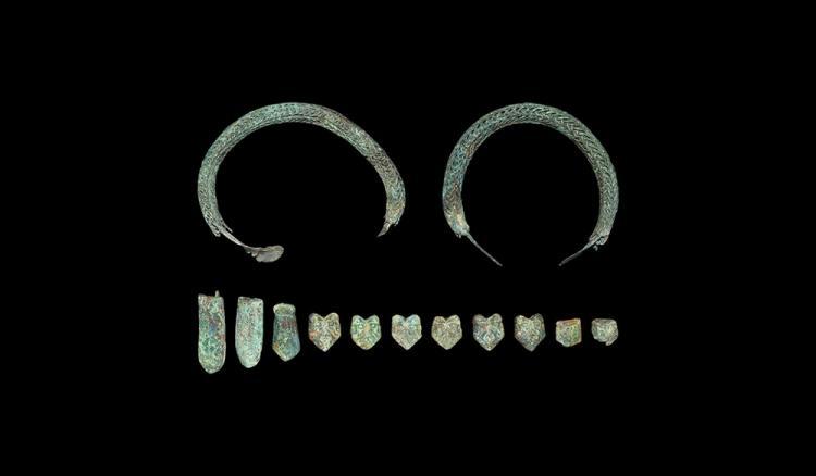Viking Belt Fitting & Bracelet Group