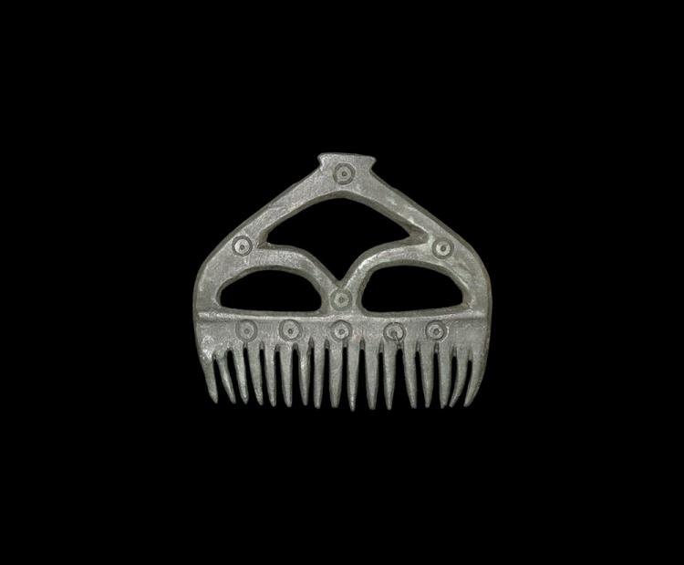 Viking Decorated Comb