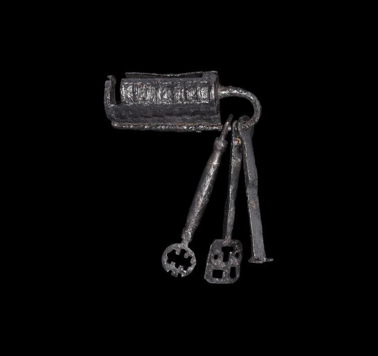 Viking Lock and Keys Set
