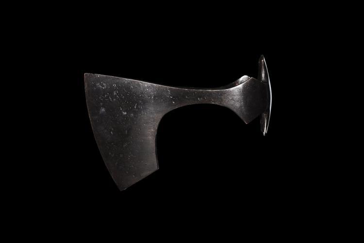Viking Bearded Axehead