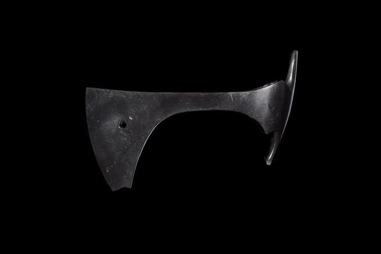 Viking Pierced Bearded Axehead