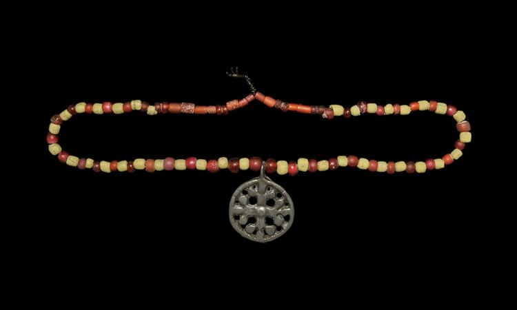 Viking Cross Pendant Necklace