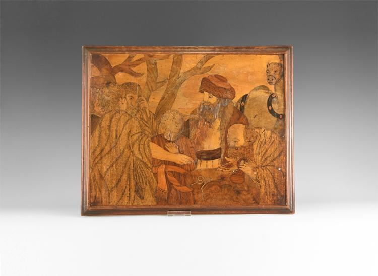 Post Medieval Uhlm Marquetry Panel