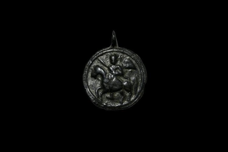 Byzantine Saint Michael Pendant