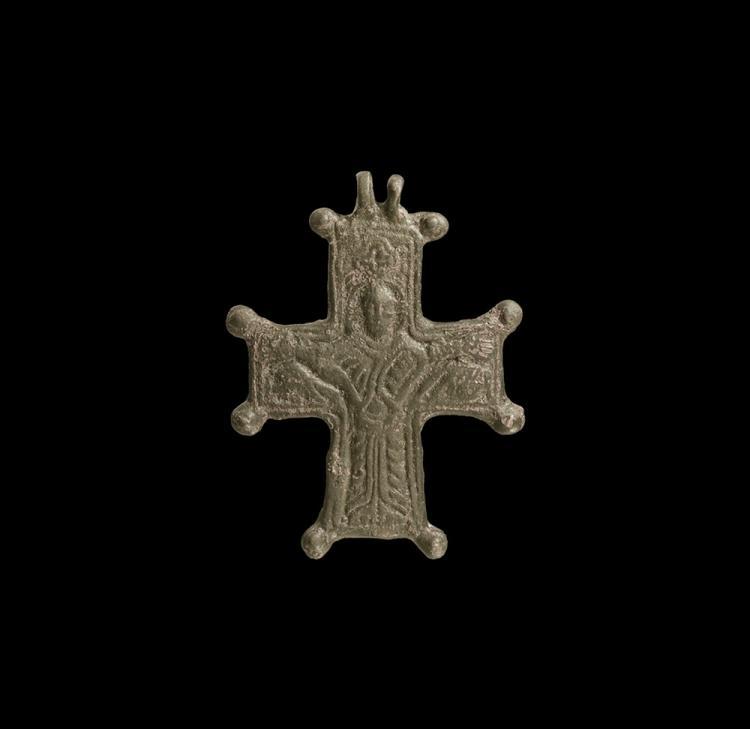 Byzantine Pectoral Cross Pendant