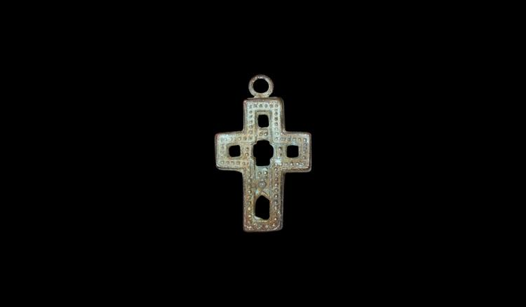 Post Medieval Cross Pendant