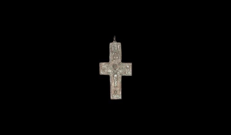Post Medieval Cross Pendant