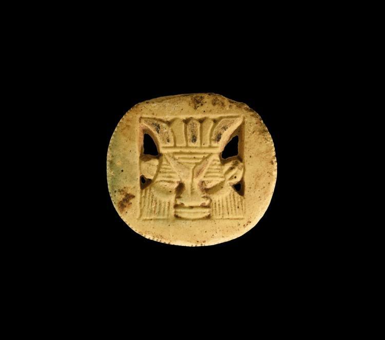 Egyptian Bes Plaque Amulet