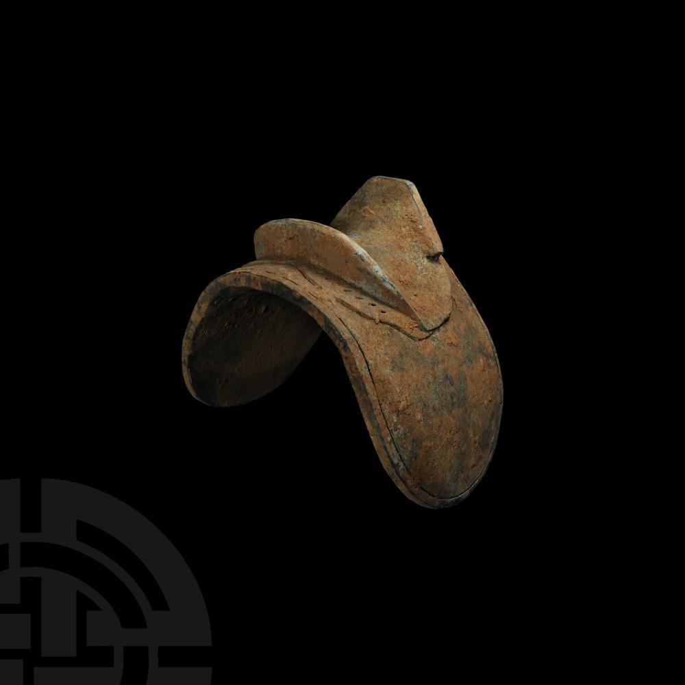 Chinese Tang Terracotta Model Saddle