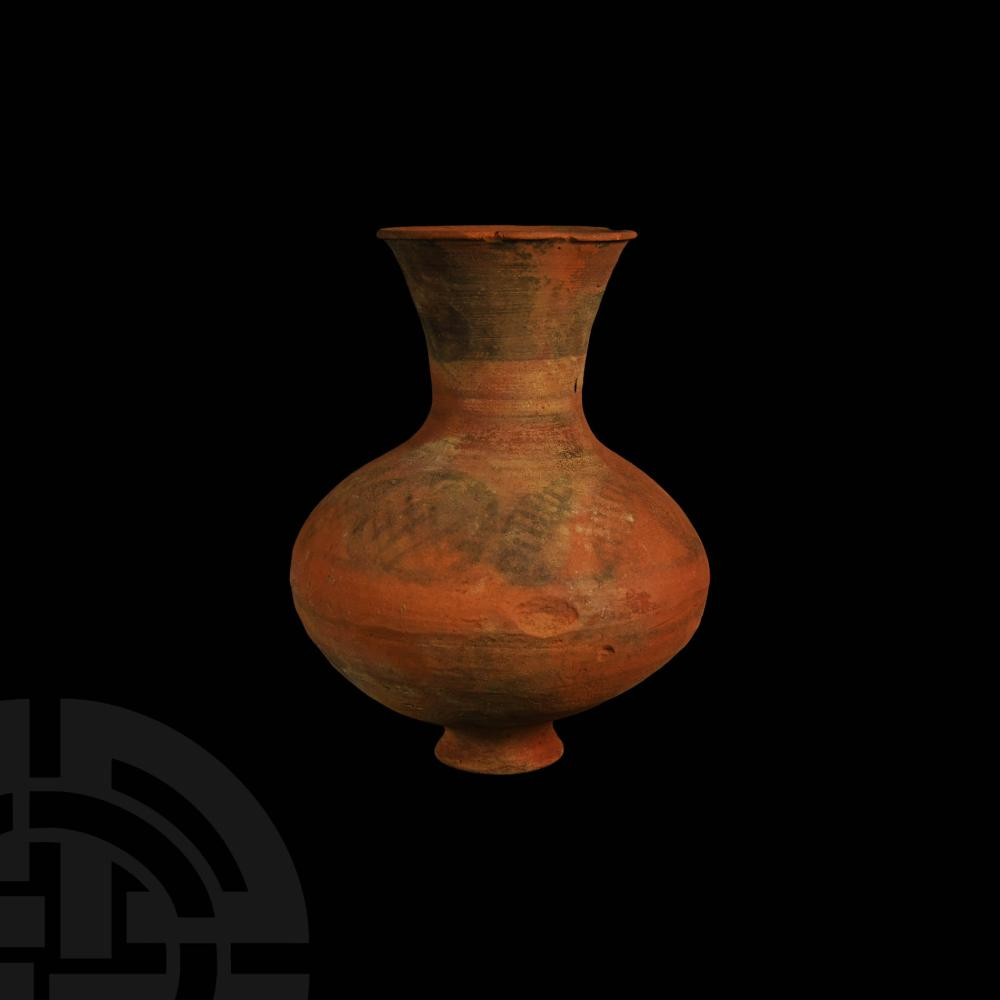 Indus Valley Mehrgarh Painted Vessel