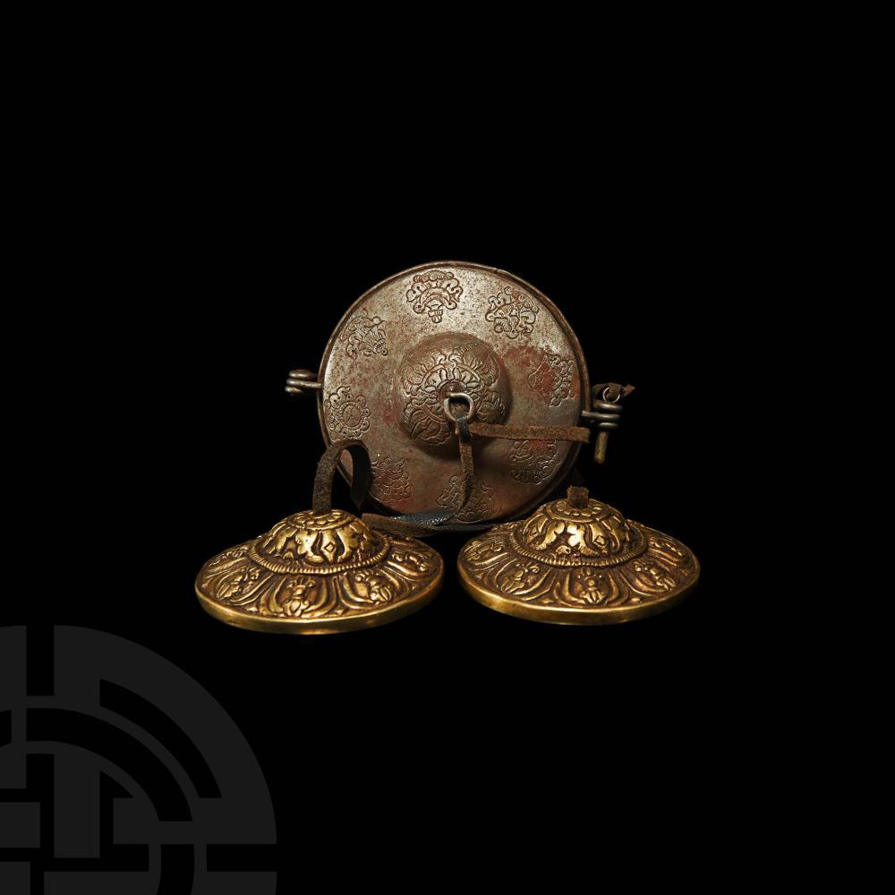 Tibetan Cased Tsingkas Pair