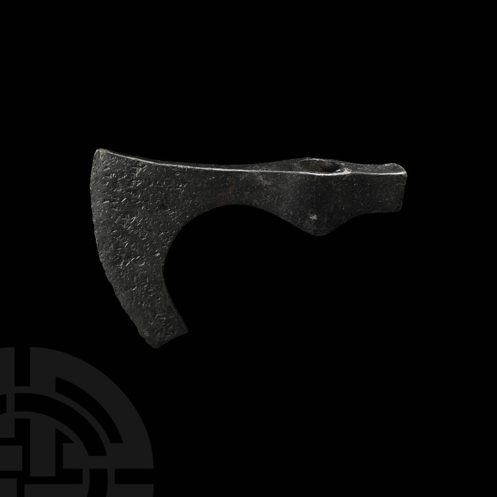 Viking Age Hook-Bearded Axehead
