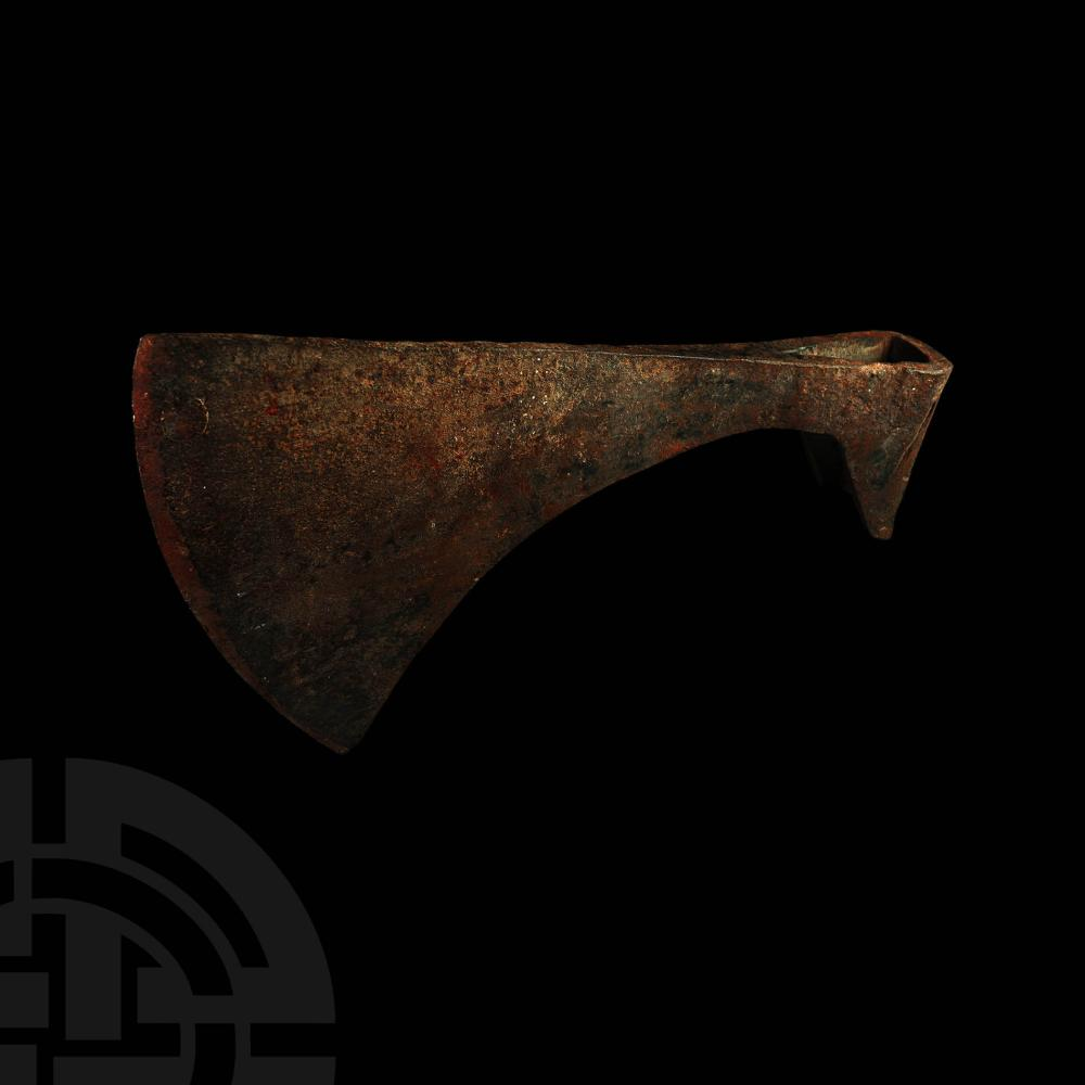 Large Post Medieval Socketted 'Headman's' Axehead