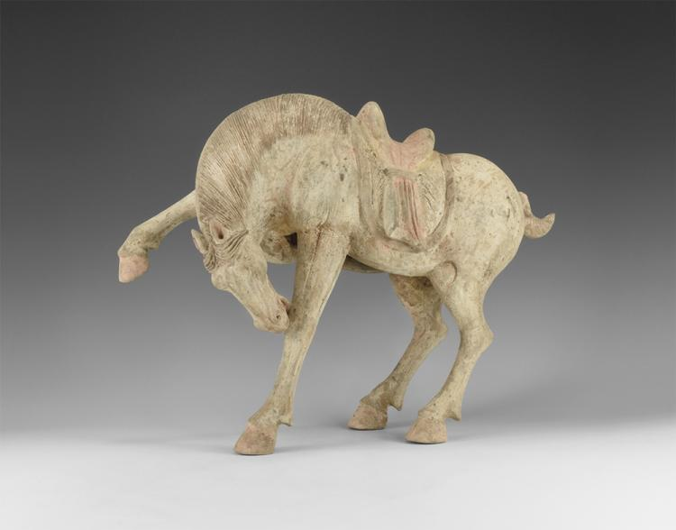 Chinese Horse with Raised Leg