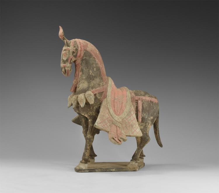 Chinese Caparisoned Horse