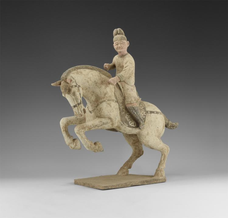 Chinese Leaping Horse and Rider