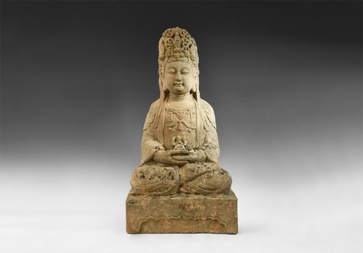 Chinese Large Guanyin Figure