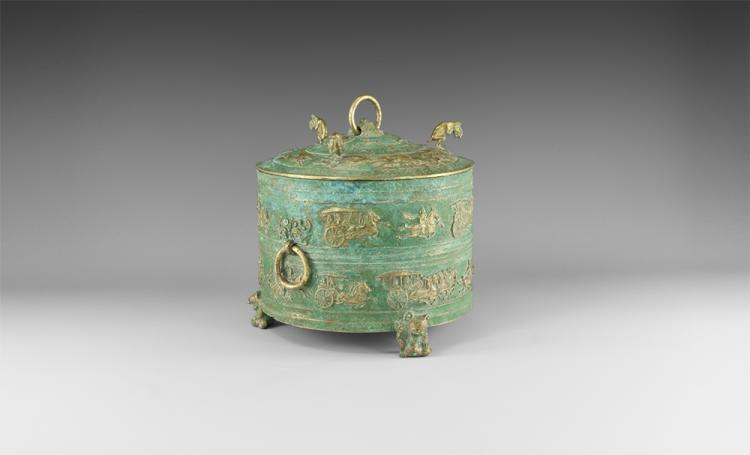 Chinese Lidded Wine Cooler