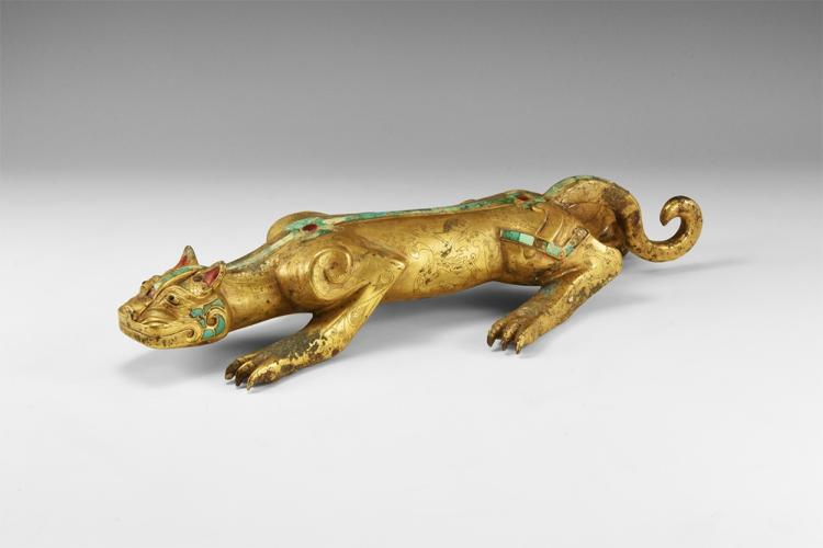 Chinese Gilt Lion
