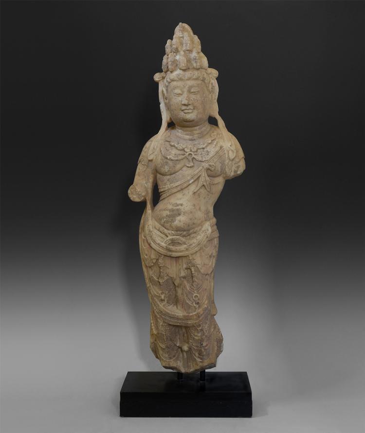 Chinese Large Avalokiteshvara Figure