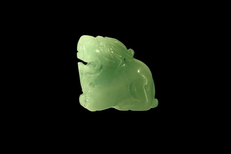 Chinese Jade Pixiu Pendant
