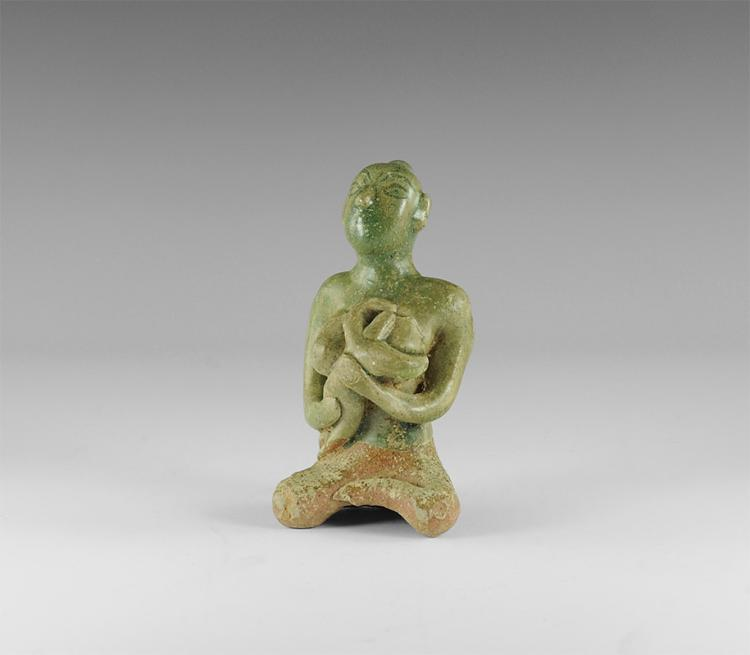 Thai Mother and Child Tukatha Figurine