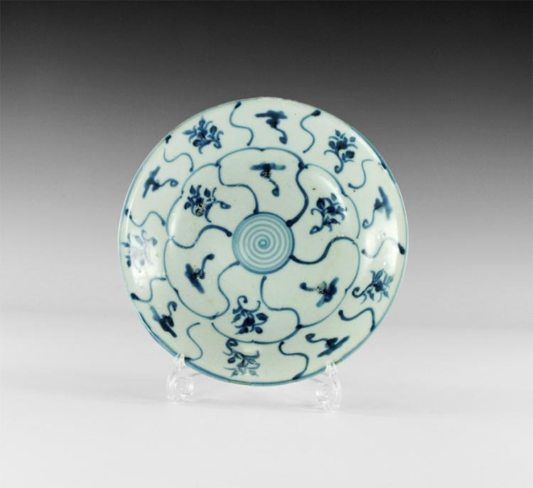 Chinese Tek Sing Shipwreck Blue and White Porcelain Bowl