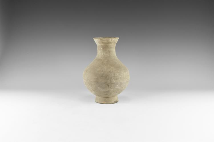 Chinese Greyware Vase