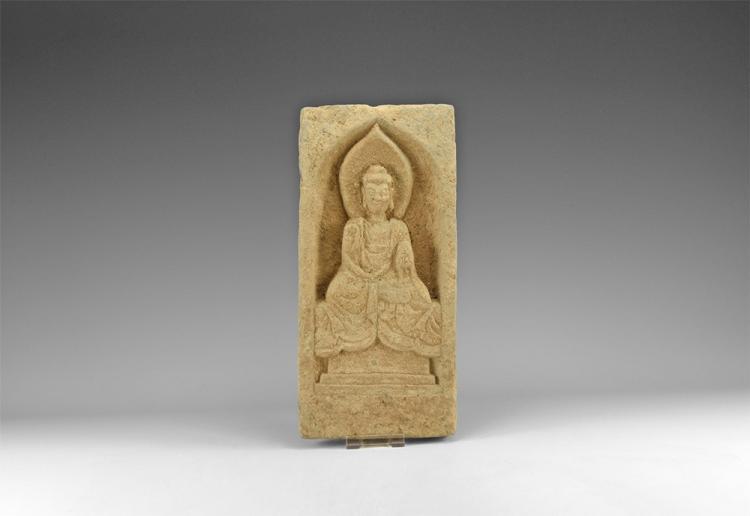Chinese Buddha Temple Brick