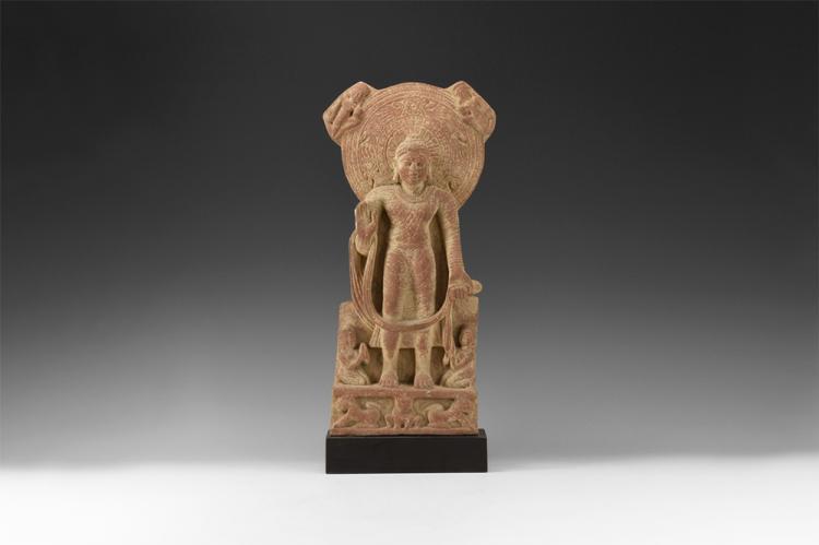 Indian Standing Buddha Sculpture