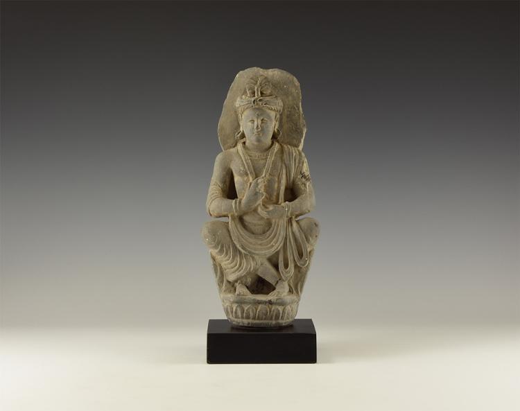 Gandharan Seated Maitreya