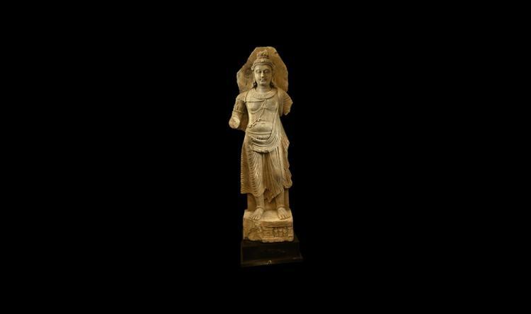 Indian Very Large Standing Maitreya