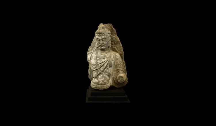 Indian Over Lifesize Maitreya Statue
