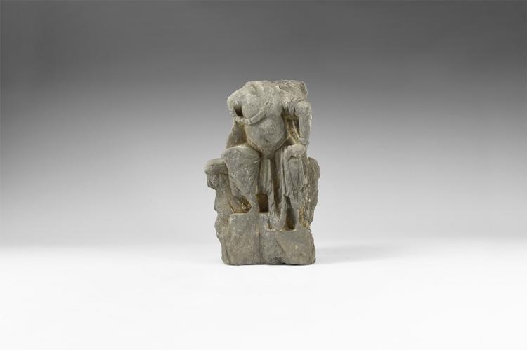 Gandharan Seated Panchika Figure