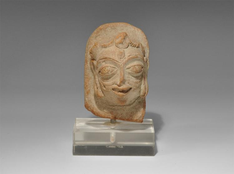 Indian Hindu Terracotta Head