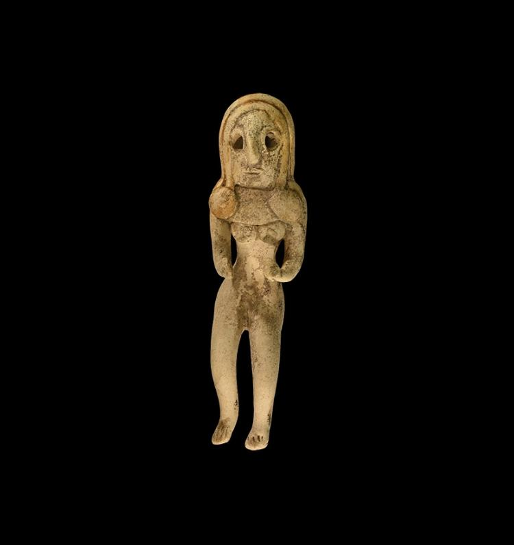 Indus Valley Seated Fertility Idol
